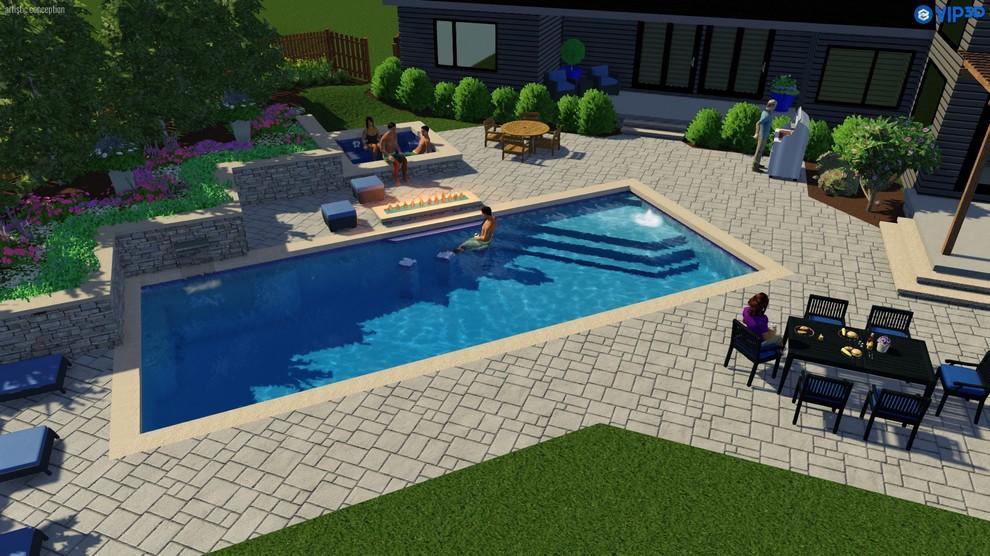3-D Pool Designs