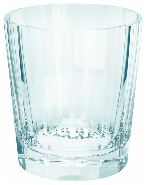 Theresienthal Roland Clear Icy Blue German Crystal Whisky Tumbler - christmastablescapedecor.com