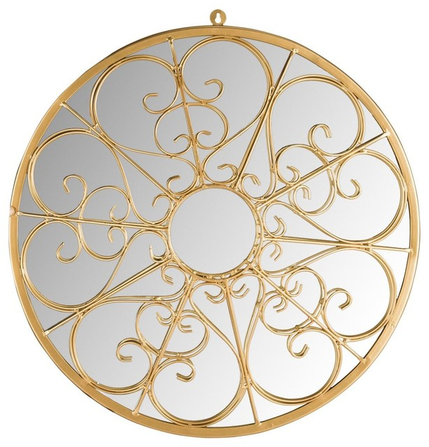 Safavieh Austin Filigree Mirror, Gold. -1