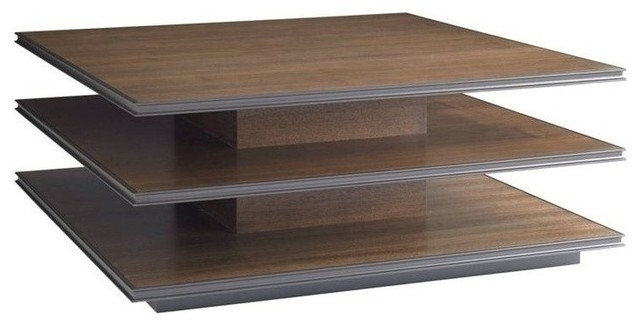 Contemporary Square Coffee Tables montreux square cocktail table - contemporary - coffee tables -