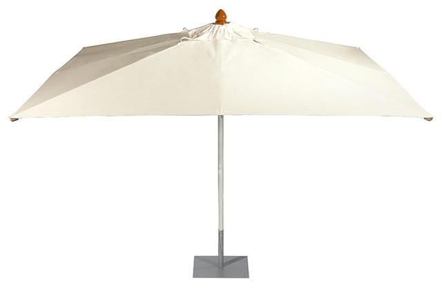 Barlow Tyrie Sail 9&x27;9x7&x27;3 Rectangular Umbrella With Aluminum 2 Pole.