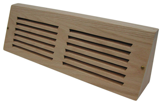 Baseboard Register 15 Mono Directional Air