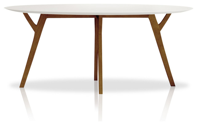 Shop Houzz Inmod Anja Round Dining Table Tables
