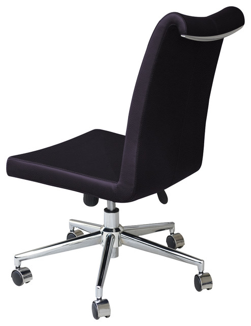 Tulip Office Chair Aluminium Base Black Ppm Office Chairs By SohoConcept
