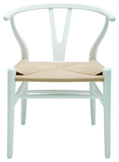 Nuevo Living Alban Dining Chair, White