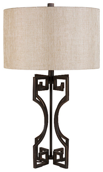 Samson Wrought Iron Table Lamp Table Lamps By Matthew Izzo Home
