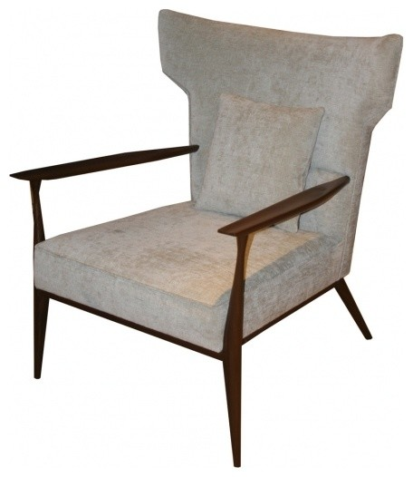 Morris Winged Back Armchair - Midcentury - Armchairs And ...