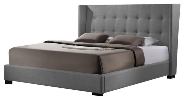 Image Result For Favela Linen Bed With Upholstered Headboard