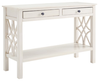 Whitley Antique White Console Table