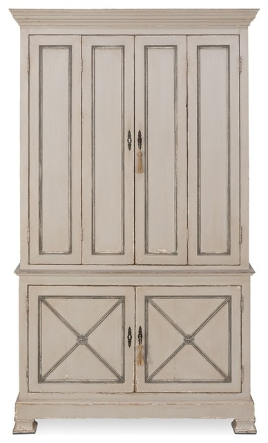 Painted Directoire Style Cabinet - Transitional - Accent Chests And ...