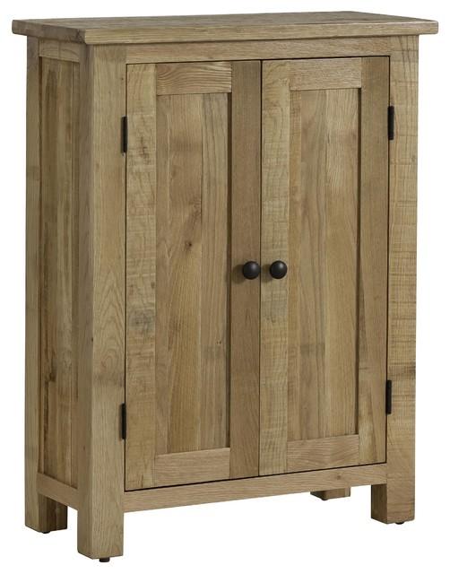 Oak 2-Door Cupboard