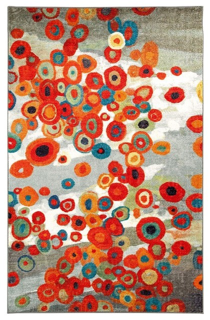 contemporary area rugs 4x6 9x12 naples fl scattered flowers rug