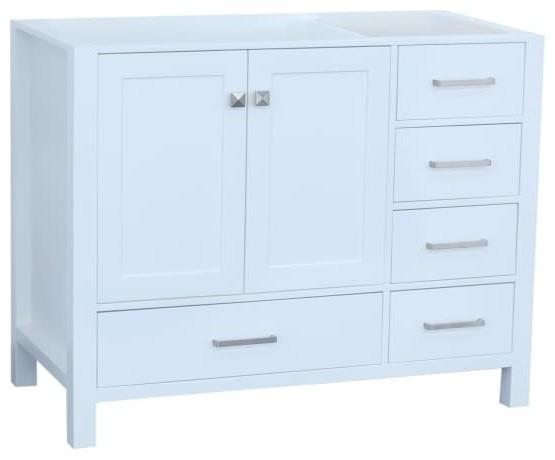 Ariel Cambridge 42 Wood Vanity Cabinet, Cambridge 42 In W Vanity Cabinet