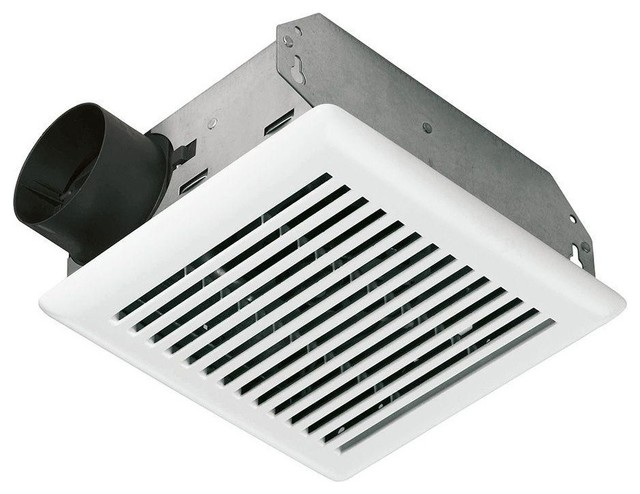 Value Test 50 Cfm Wall Ceiling Mount Exhaust Bath Fan Contemporary Bathroom