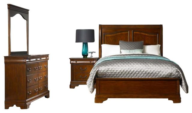 liberty liberty alexandria bedroom bedroom set furniture houzz. Black Bedroom Furniture Sets. Home Design Ideas