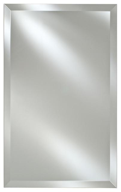 Broadway Framless Bevel Medicine Cabinets. Recessed Or Optional Surface Mount, 1.