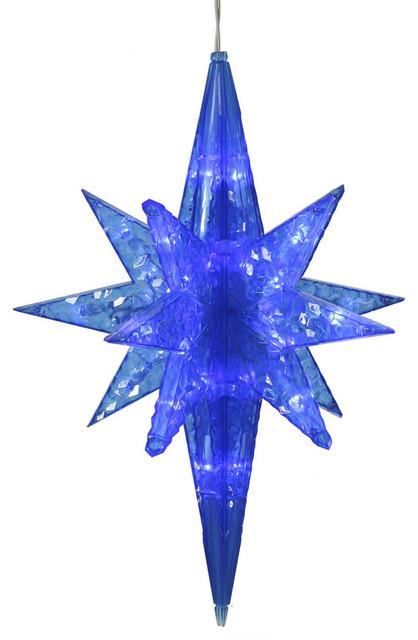 Blue Led Bethlehem Star.