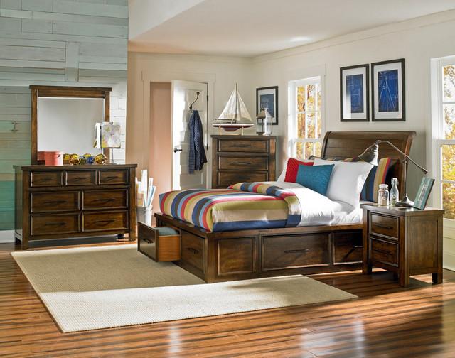 cameron storage bed rustic bedroom miami by el dorado furniture. Black Bedroom Furniture Sets. Home Design Ideas