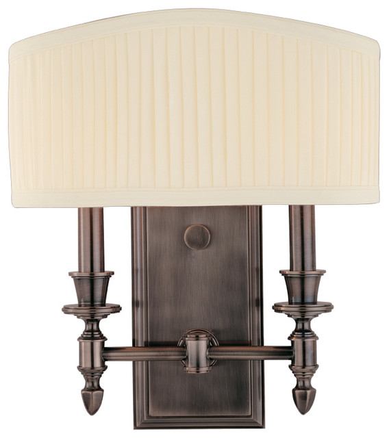 Wall Sconces Transitional : Bridgehampton, Two Light Wall Sconce - Transitional - Wall Sconces - by Buildcom