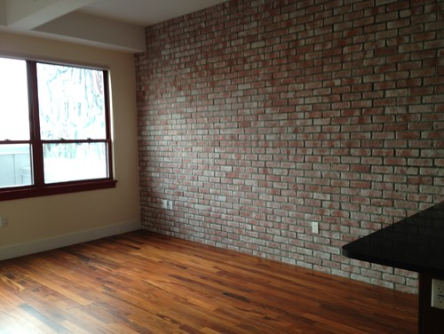 Exposed Red Brick Color Dilemma
