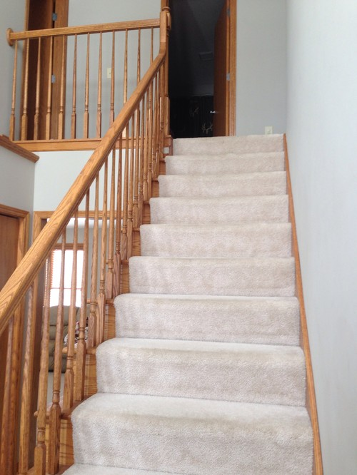 removing carpet from stairs. Black Bedroom Furniture Sets. Home Design Ideas