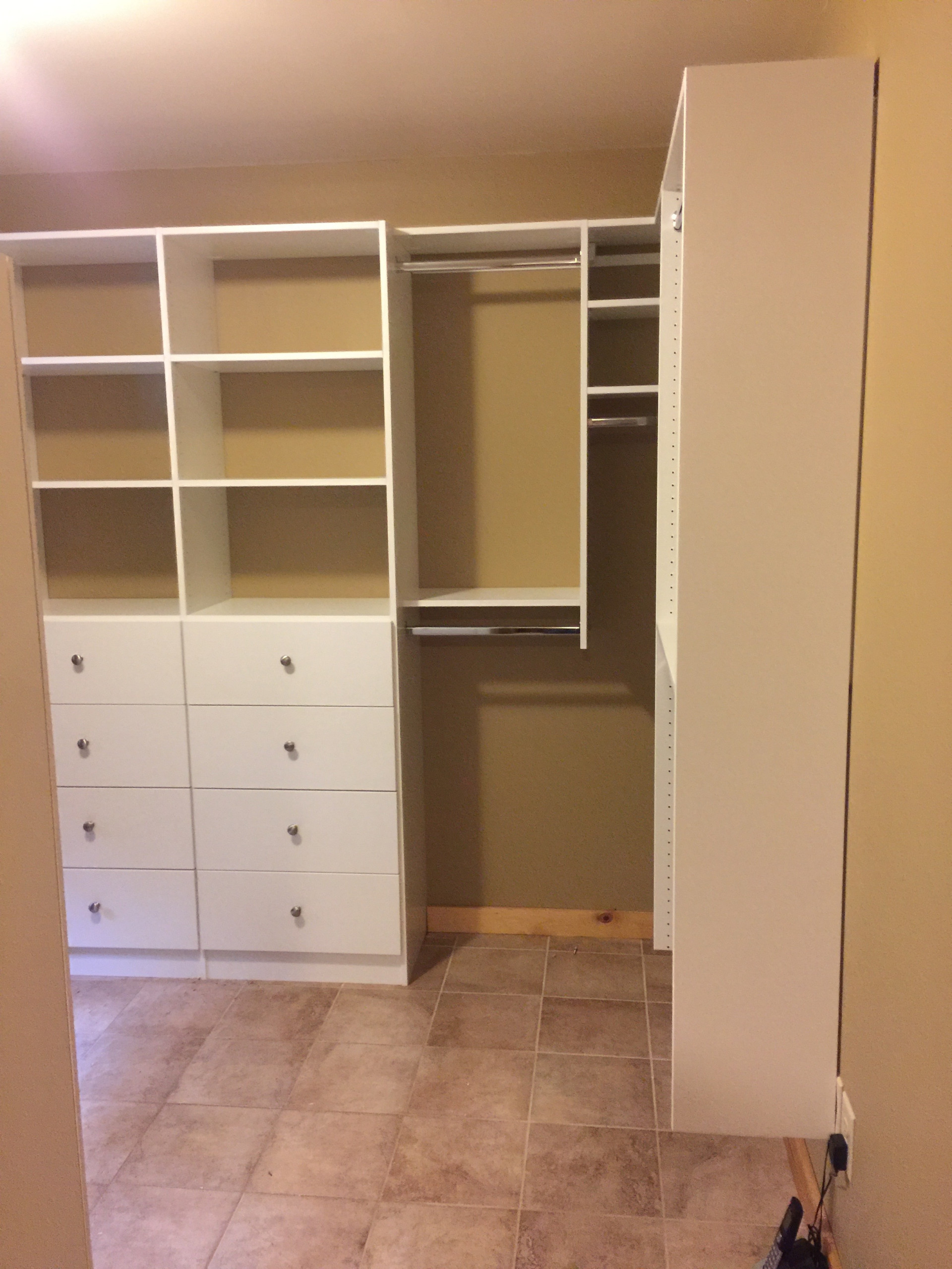 Walk In Closet & Laundry Room in Rutherfordton, NC