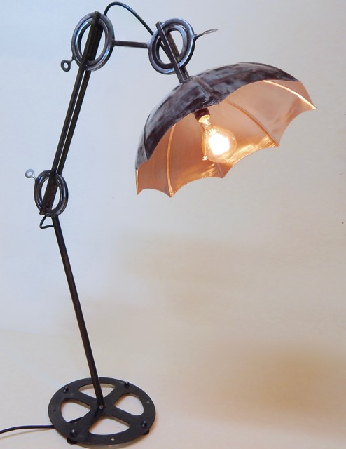 industrial lamps or steel lamp pipe medium fitter of steampunk idea size modern floor flo