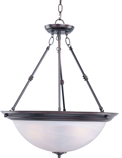 Inverted bowl pendant lighting Torino Inverted Essentials 3light Invert Bowl Pendant Oily Bronze Marble Glass The Home Lighter Inc Essentials 3light Invert Bowl Pendant Oily Bronze Marble Glass