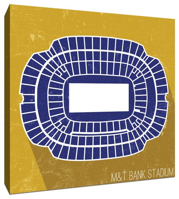 M&T Bank Stadium Seat Map 20