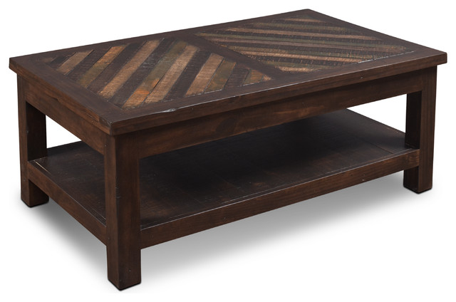 Sunset trading riviera lift top cocktail table for Southwestern coffee table