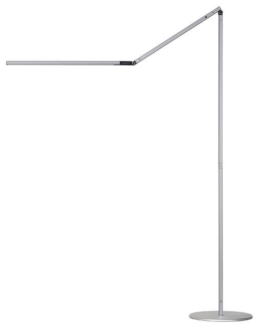 Koncept Z-Bar Led Floor Lamp, Warm Light, Silver - Ar5000-Wd-Sil-Flr.