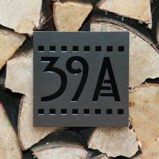 house numbers arts crafts house numbers manchester. Black Bedroom Furniture Sets. Home Design Ideas