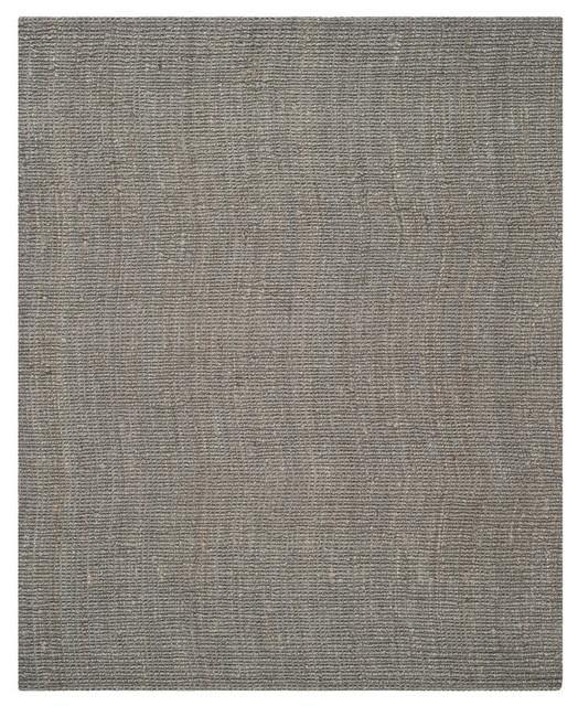 Safavieh Estmund Natural Fiber Rug, Light Gray, 8&x27;x10&x27;.