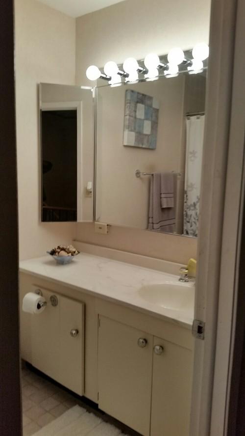 Low Budget Bathroom Update