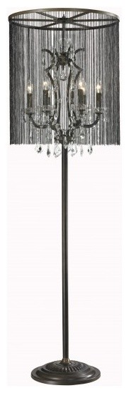 vaille crystal floor lamp