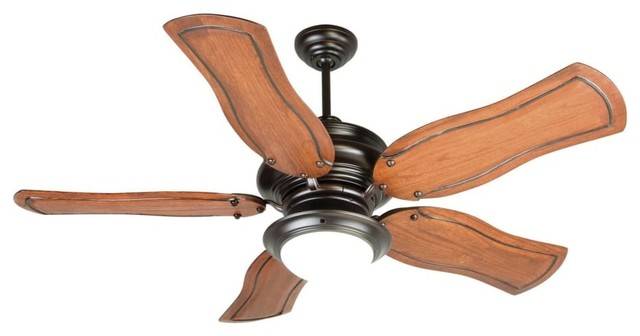 "Craftmade K10774 Townsend 54"" 5-Blade Indoor Ceiling Fan, Oiled Bronze"