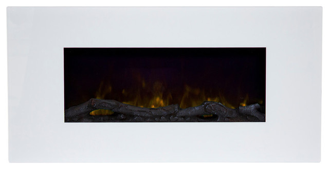 Northwest 36&x27;&x27; Color Changing Led Electric Fireplace With Remote, White.