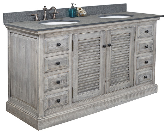 Double Fir Sinks Vanity Driftwood With