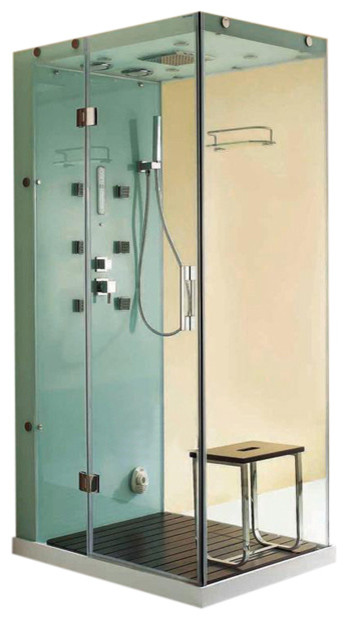 Super Luxury All In One Steam Shower Room Contemporary Steam