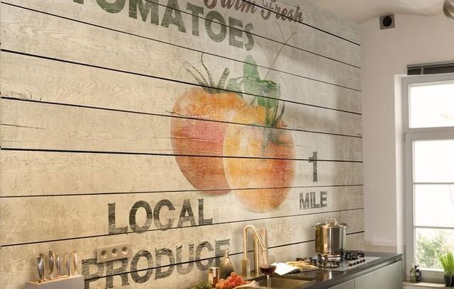 Küchenwand-Design, Küchengestaltung, Küche ohne ...