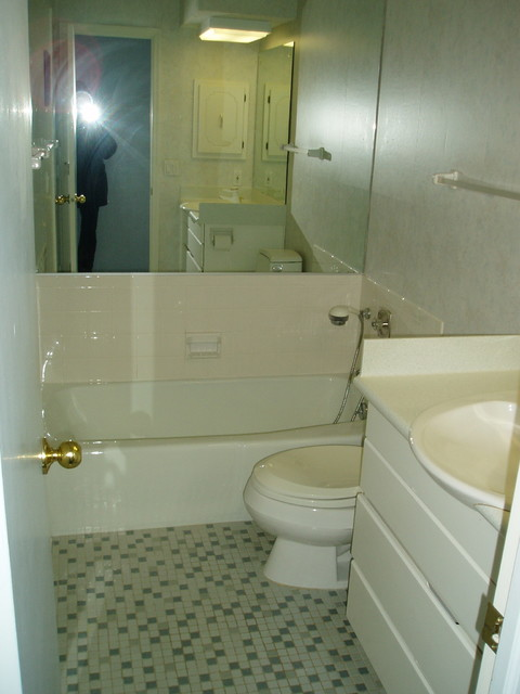 Dated Bathroom Remodel Modern Omaha By The Omaha Home Staging Company