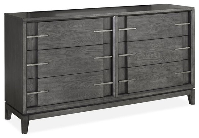 Magnussen Proximity Heights Contemporary Double Drawer Dresser