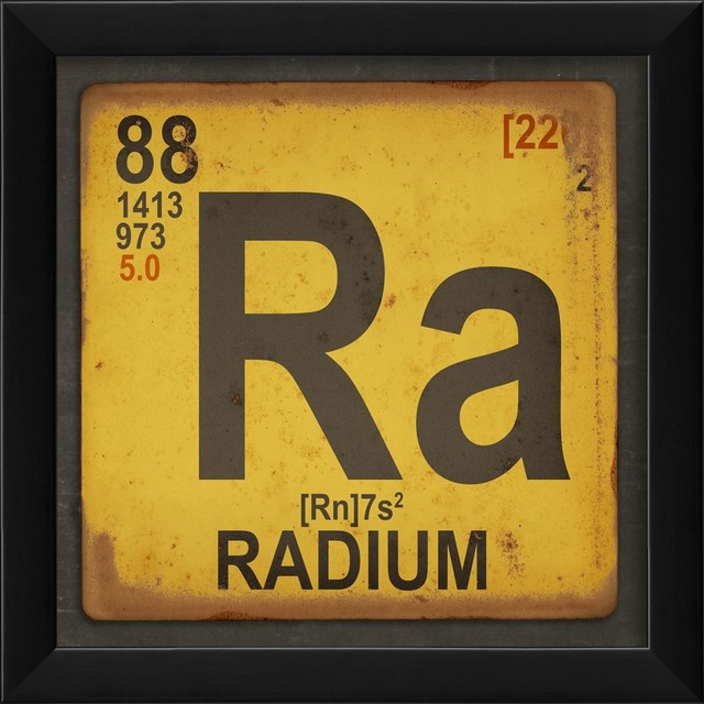 Radium Element Yellow Framed Poster Contemporary  : contemporary prints and posters from www.houzz.com size 640 x 640 jpeg 82kB