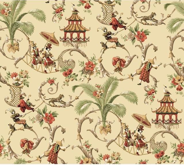 Waverly York Waverly Wallpaper Mandarin Prose Oriental