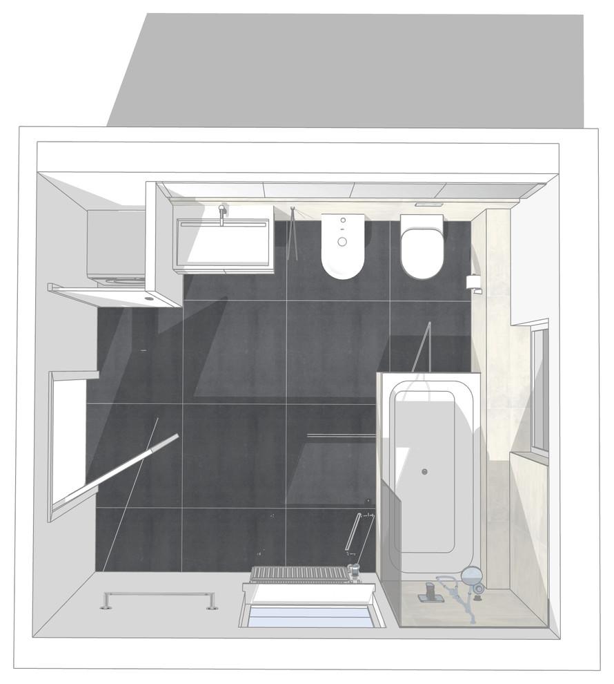 Neuplanung eines Wannenbades Finaler Entwurf Bild I