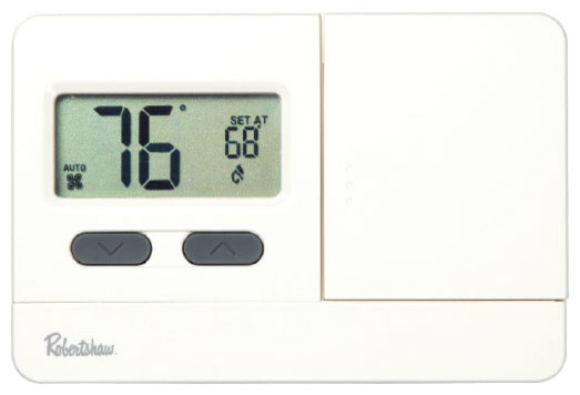 2110, 2000 Economy Series Non-Programmable Digital Thermostat 1 Heat/1 Cool.