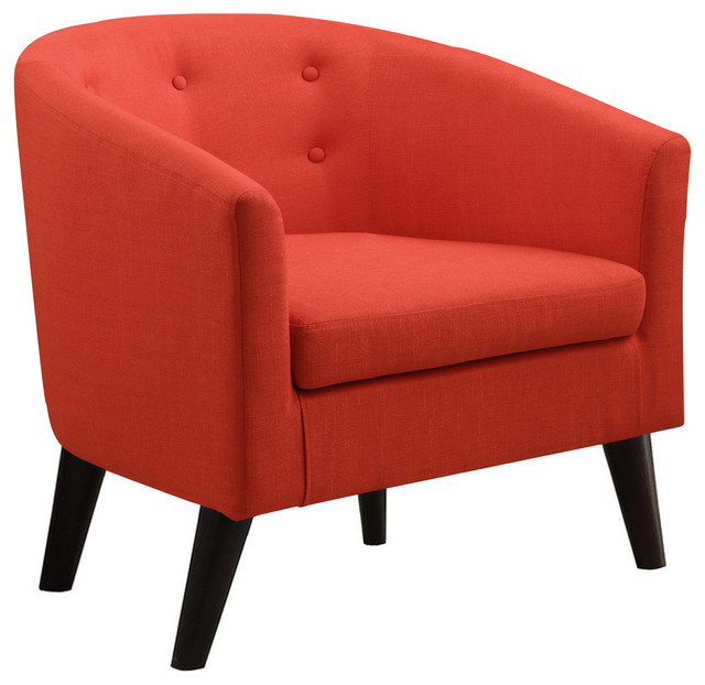 Phipps Barrel Chair Midcentury Armchairs And Accent