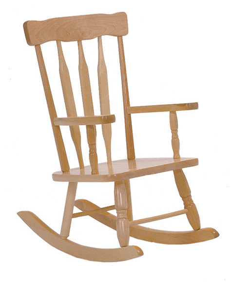 wooden rocking chair. colonial child\u0027s rocker contemporary-kids-chairs wooden rocking chair d