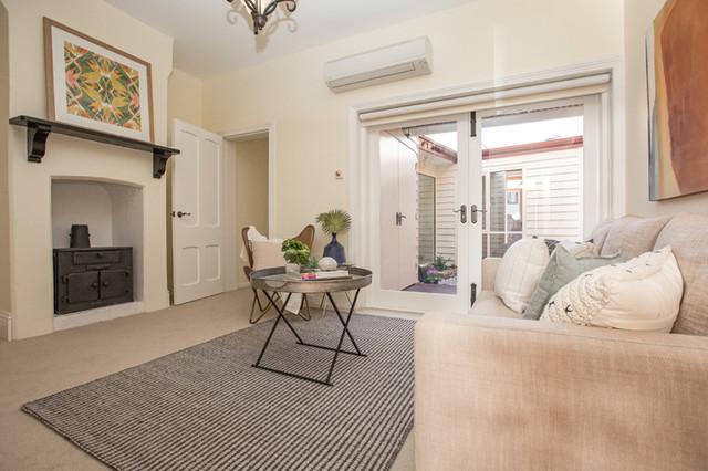 Tasma Street North Hobart Contemporary Living Room