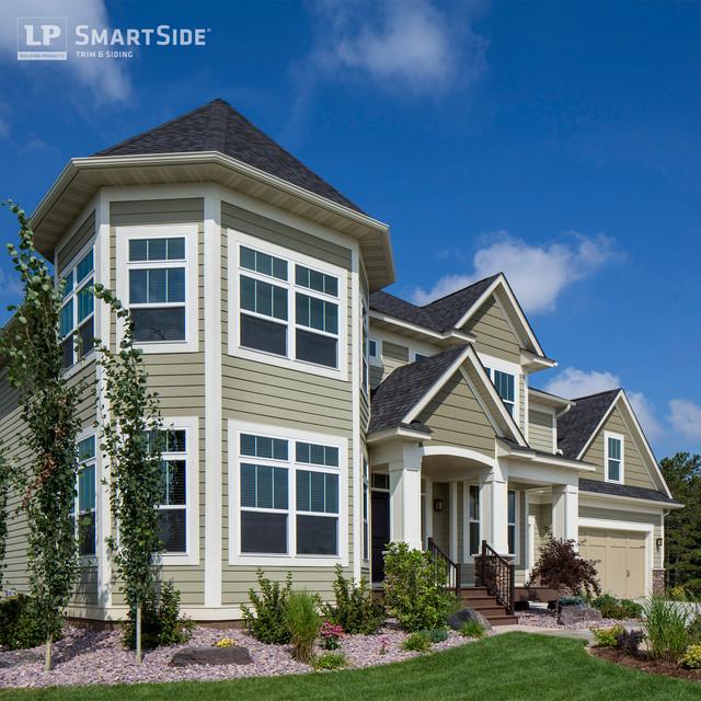 Lp Smartside Lap Siding 6 Eclectic Exterior